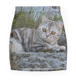 Ellie - Cat mini skirt