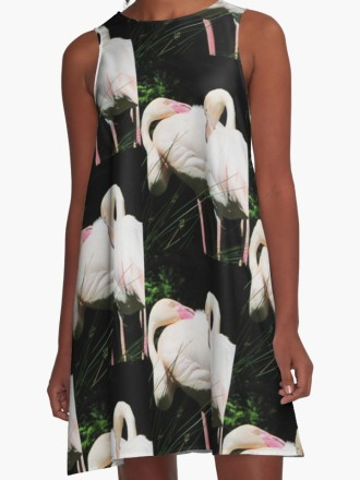flamingodress